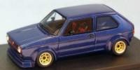 VW Golf Gr.2   St.Nr.     Strasse 1975   blau
