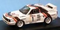 Audi Sport Quattro 'kurz'   St.Nr.     3-Staedte Rallye 1984  Roehrl