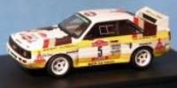 Audi Sport Quattro 'kurz'   St.Nr. 5    San Remo 1984 HB Roehrl/Geistdoerfer