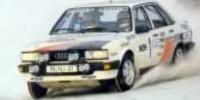 Audi 80 Quattro Gr. A   St.Nr.     Schweden 1983  Blomqivst