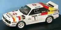 Audi Sport Quattro kurz   St.Nr.     Welsh Rallye 1986 SHELL OIL Mikkola
