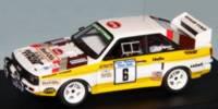 Audi Sport Quattro kurz   St.Nr.     Manx Rallye 1985  Wilson pre-painted