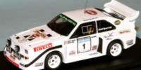 Audi Sport Quattro S1   St.Nr.     Ulster rallye 1985  Mouton    lim 25 Stück