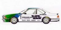 BMW 635 CSI   St.Nr. 1    DTM 1984 VOGELSANG Grohs