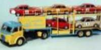 Alfa Transporter incl. 5 Alfa Models   St.Nr.