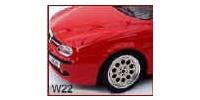 Alfa Romeo    9,8 breit   Alfa Romeo 155, Spyder Duetto, Spyder 2000, 145