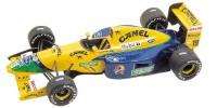 Benetton Ford B 191B   St.Nr. 19   4. Sdafrika 1992 CAMEL M.Schumacher