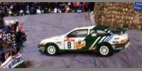 Ford Sierra Cosworth Panach 1st Tour de Corse 88 Auriol / Occelli