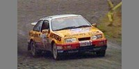 Ford Sierra Cosworth Andrews RAC 89 Brooks / Wilson