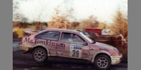 Ford Sierra Cosworth 11th RAC 89 Evans / Davies