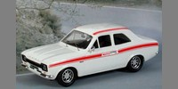 Ford Escort MK 1 Mexico (1971) white w. red stripes (Lhd or Rhd)