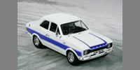 Ford Escort MK 1 RS 2000 (1973) white w. blue stripes (Lhd or Rhd)