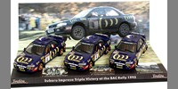 Set Subaru Impreza RAC 95 McRae + Sainz + Burns
