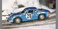 Alpine Renault A 110 ? 1600 S˜1st Monte Carlo 71 Ove Andersson