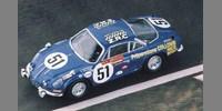 Alpine Renault A 110 ? 1300 No.51 Le Mans 68