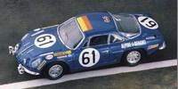 Alpine Renault A 110 ? 1300 No.61 Le Mans 68