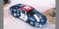 Alpine Renault A 110 ? 1600 S˜1st Rally Maroc 73 B.Darniche