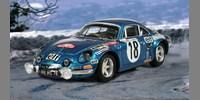 Alpine Renault A 110 ? 1600 S˜1st Monte Carlo 73 Andruet / Biche