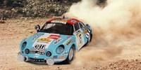 Alpine Renault A 110 ? 1600 S˜Safari 74 Therier / Laverne